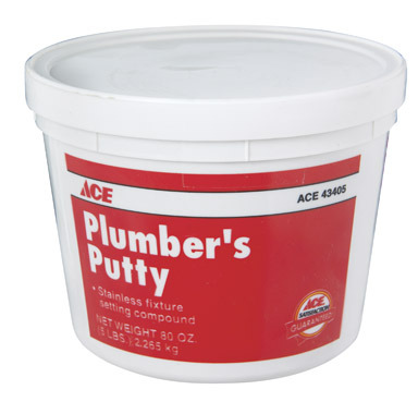 Departments putty plumbers 5 for Plumbers putty