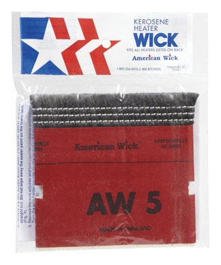 Williams Ace Hardware Aw5 Heater Wick