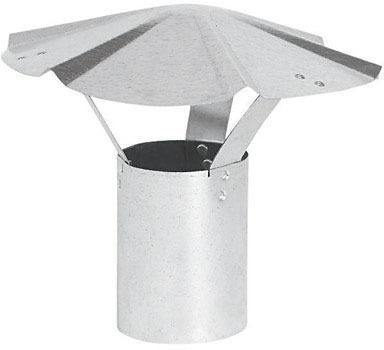 """RAIN CAP GALV 30G 6"""""""