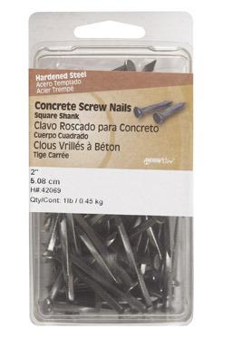 """Concrete Nail 2"""" 1lb"""