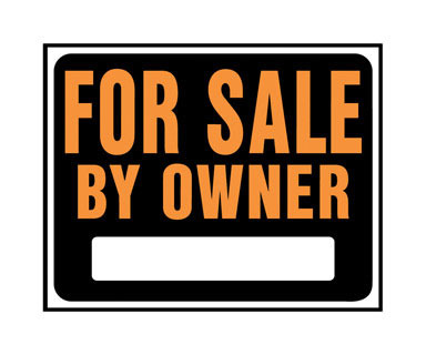 """SIGN 4 SALE OWNER 15X19"""""""