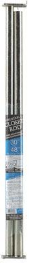 "CLOSET ROD 30-48""PLTNM"