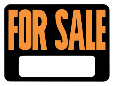"""SIGN FOR SALE 8.5X12"""""""