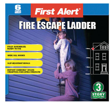 FIRE ESCAPE LADDER3STORY