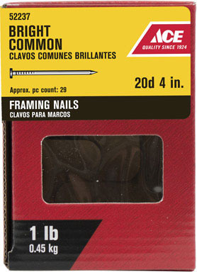 """ACE COMMON NAIL20D4"""" 1#"""