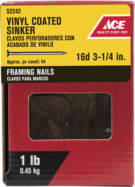 ACE SNKR 16D 3.25 1#