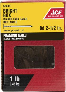 """ACE BOX NAIL 8D 2.5"""" 1#"""