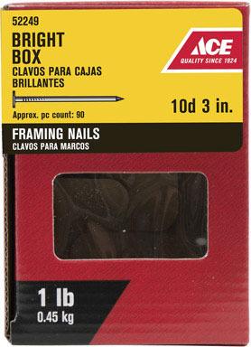 """ACE BOX NAIL 10D 3"""" 1#"""
