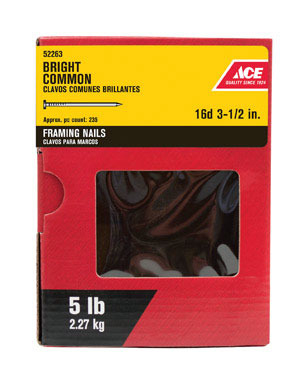 """ACE COMMON NAIL16D3.5""""5#"""