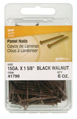 PANL NAIL1-5/8BLKWLNT6OZ