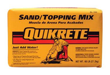 SAND MIX 60# QUIKRETE