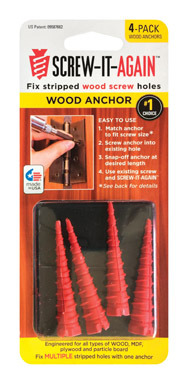 SIA WOOD ANCHOR - 4 PACK