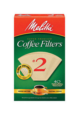 Coffee Filter #2brn 40ct