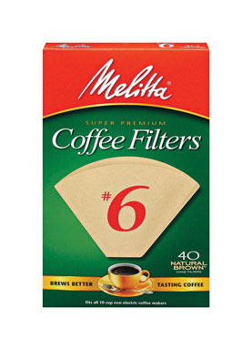 Coffee Filter #6brn 40ct