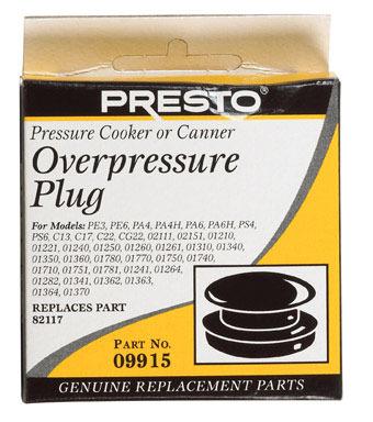 Pressur Cook Over Plug