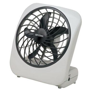 """Desktop Fan 5"""" Battery"""