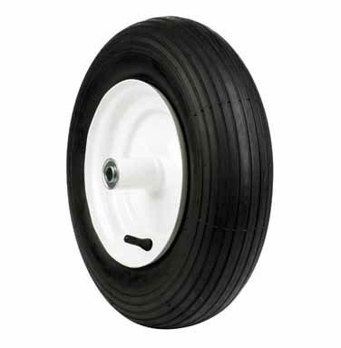 "Wheel+tire Barrow 16""30#"