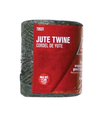 TWINE JUTE GRN 208' 3PLY