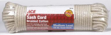 CORD SASH COTTON 1/4X100