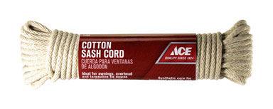 CORD SASH COTTON 1/4X50