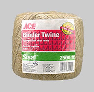BINDER TWINE SISAL2500FT
