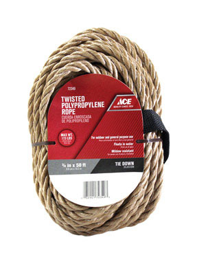 Top Categories Poly Rope 3 8 Quot X50 Tan