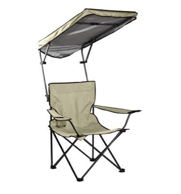 TAUPE CANOPY CHAIR