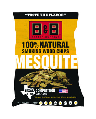B&B MESQUITE WOOD CHIPS