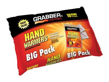 HOT HANDS HAND WARMER 10 PAIR