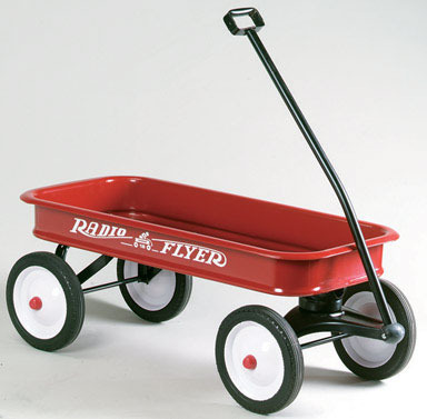 CLASSIC RED WAGON 36""