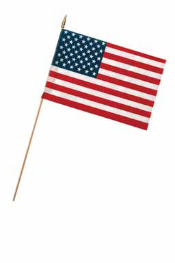 "STICK FLAG12X18"""""