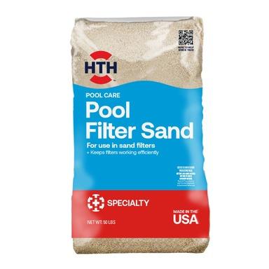 HTH POOL FILTR SAND 50LB