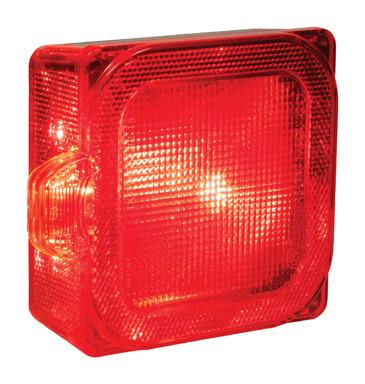 LED STOP&TAIL W/LIC LITE