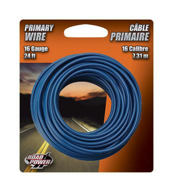 WIRE PRIMARY 16GA24'BLUE