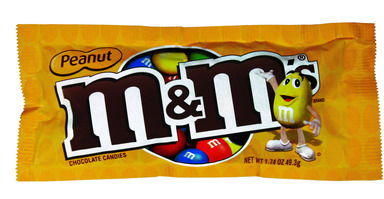 Candy M&m Peanut 1.74oz