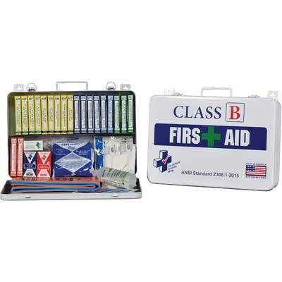 FIRST AID KIT CLASS B OSHA 117PC