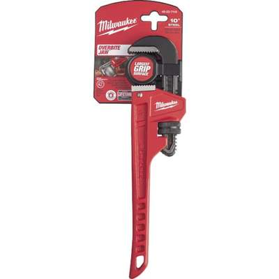 """10"""" STEEL PIPE WRENCH"""