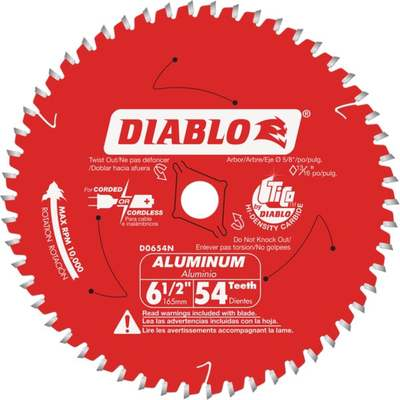 "6-1/2"" 54T SAW BLADE"