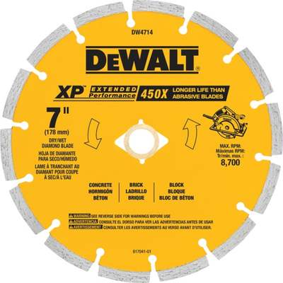 "7"" SEG DIAMOND BLADE"