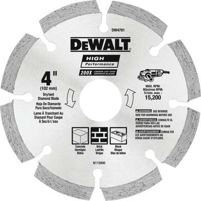 "4"" SEGMENTED DIAMOND BLADE"