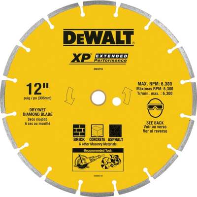 "12"" SEGMENTED DIAMOND BLADE"