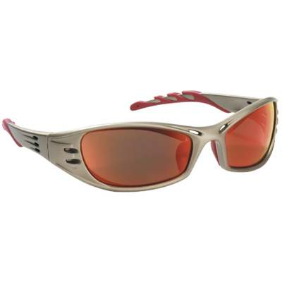 FUEL SAFETY GLASSES RED MIRROR