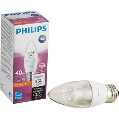 4.5W CLR MED FLM LED