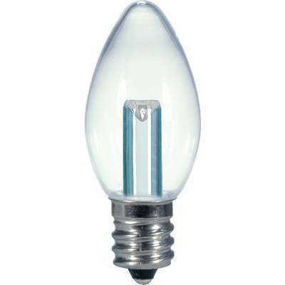 0.5W C7 LED 27K CLR BULB