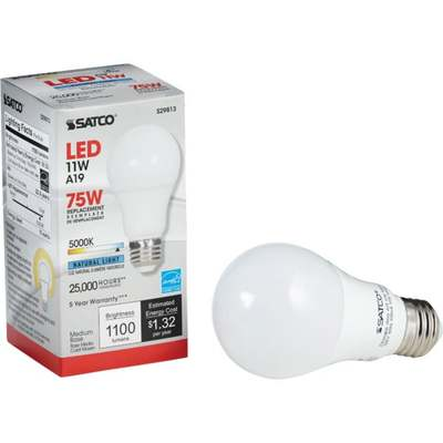BULB 40W A19 DIMMABL WHT LED