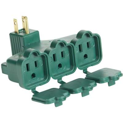 ADAPTER ANGLE W/COVER GREEN