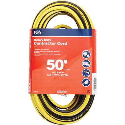 EXT CORD - 14/3 IND / 50'