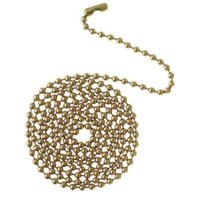 """CHAIN BEADED 12""""W/CONNECTOR"""
