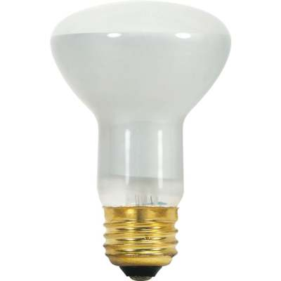 BULB 45W R20 MED FLOOD FROST