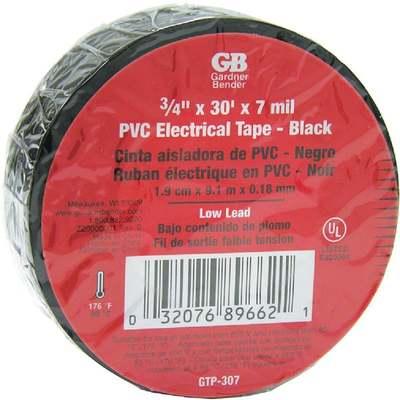 "TAPE ELECTRICAL3/4""X30'BLACK"